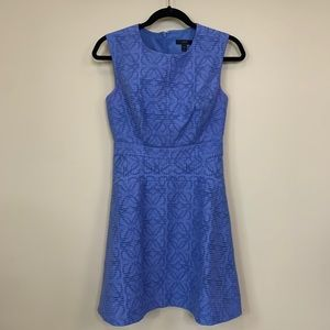 J. Crew Fit & Flare Sleeveless Dress